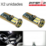 2 bombillas Led CAN BUS. W5W (T10) de 266 lumen