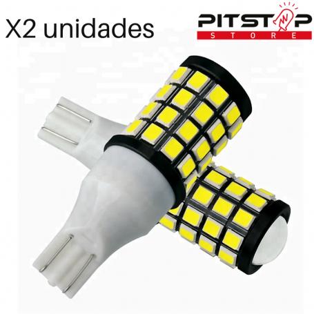 2 bombillas Led CAN BUS. W16W (T15) de 480 lumen y 6000k