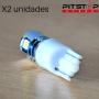 2 bombillas Led W5W (T10) de 224 lumen y 6000k