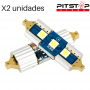 2 bombillas Led C5W (Festoon) CAN BUS de 383 lumen y 6500k blancas