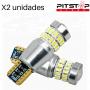2 bombillas Led CAN BUS W5W (T10) de 254 lumen