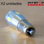 2 bombillas Led BA9S (T4W) de 116.7 lumen