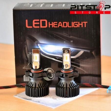 Bombillas Led PSX24 de 8000 lumen, 6500 k. Chip Philips Lumiled ZES