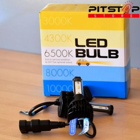 Bombillas Led HB4 (9006) 4500 lumen, 6500k