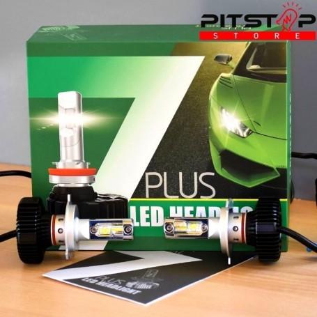 Bombillas led H4 4500lumen,6500k.Buena calidad precio