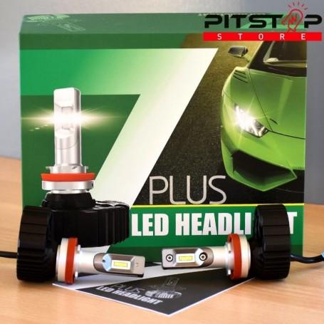 Bombillas led H8 4500lumen,6500k.Buena calidad precio