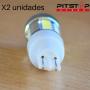 2 bombillas Led W16W (T15) de 348 lumen y 6000 k
