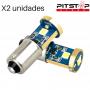 2 bombillas Led CAN BUS BA9S (T4W) de 115 lumen